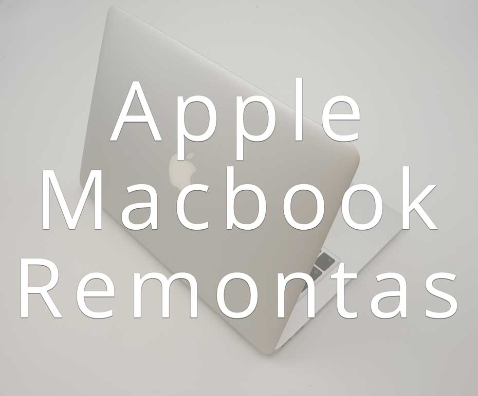 Apple Macbook remontas