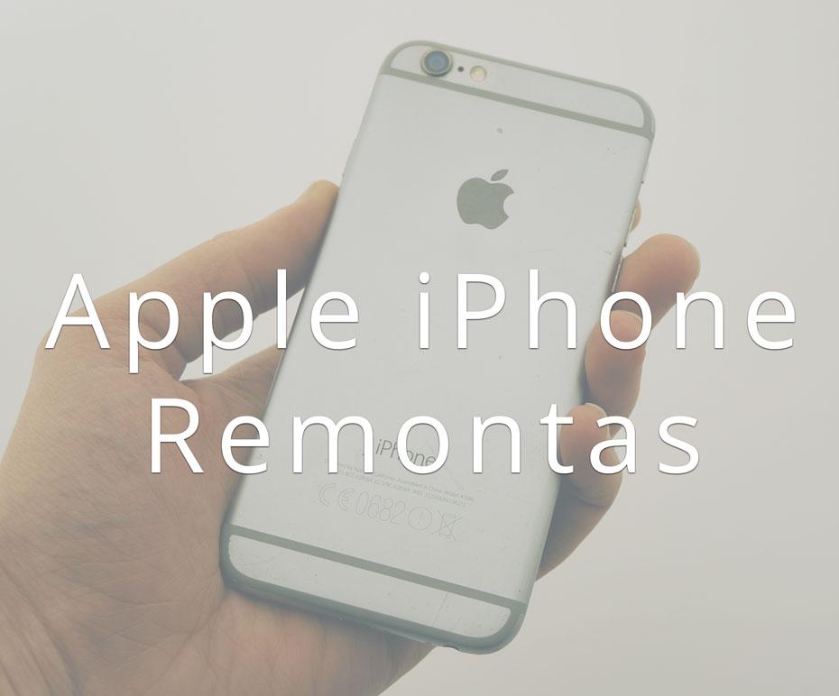 iPhone remontas klaipėdoje