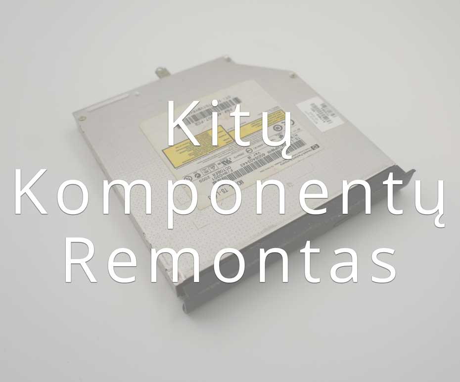 Kitų kompiuterio komponentų remontas