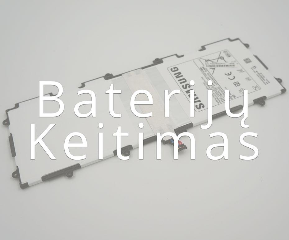 Planšečių baterijų keitimas