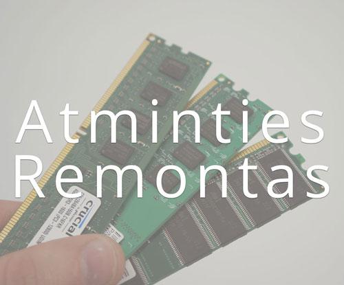 RAM atminties remontas