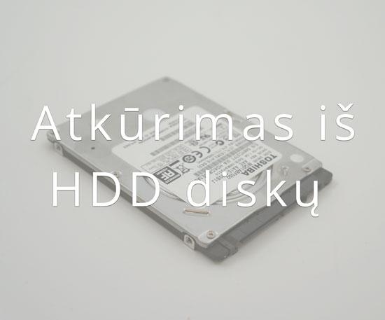 Duomenų atkūrimas iš kietojo disko