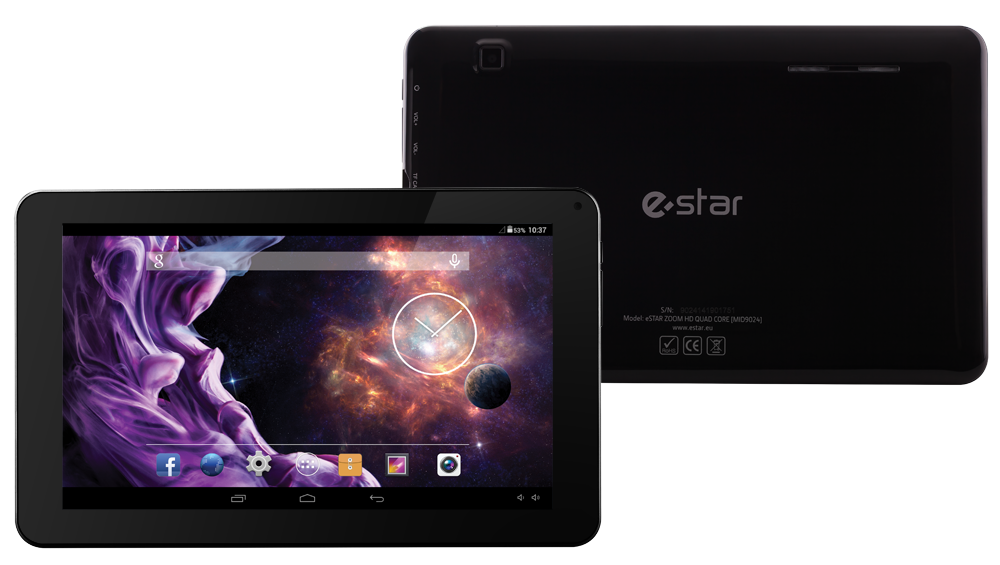 Estar ZOOM HD Quad Core 9.0""