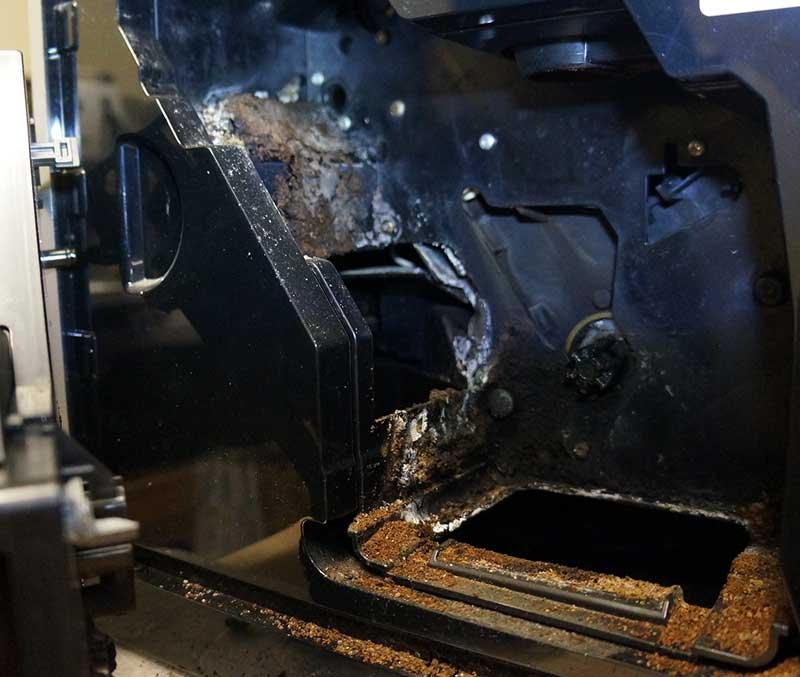 kaip nukalkinti kavos aparatą