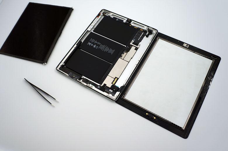 iPad planšetės ekrano keitimas