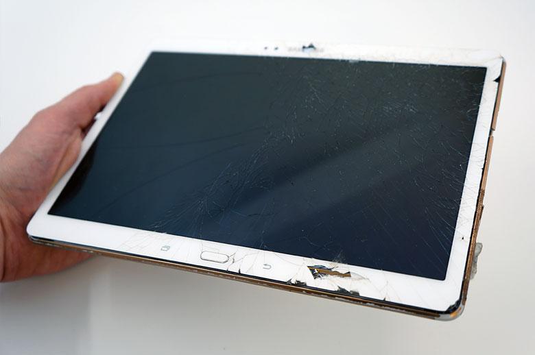 Samsung planšetės ekrano keitimas
