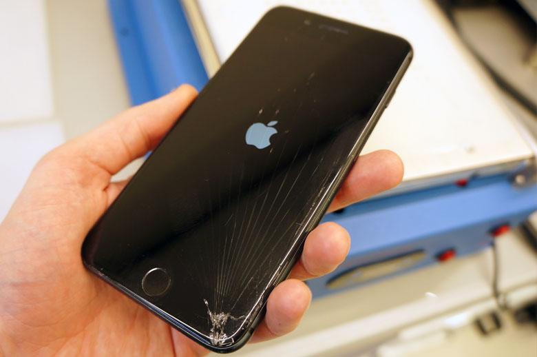 telefono ekrano keitimas