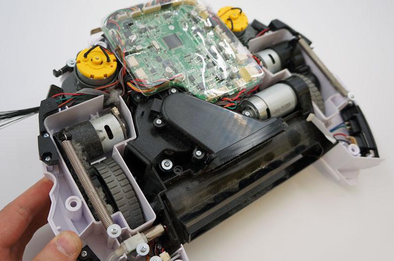 Roboto dulkių siurblio ardymas