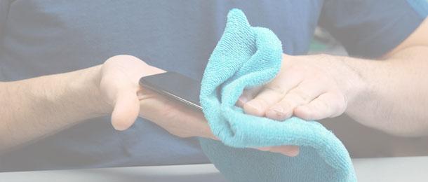 kaip dezinfekuoti telefoną